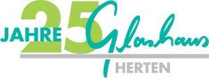 Logo 25 Jahre Glashaus Herten