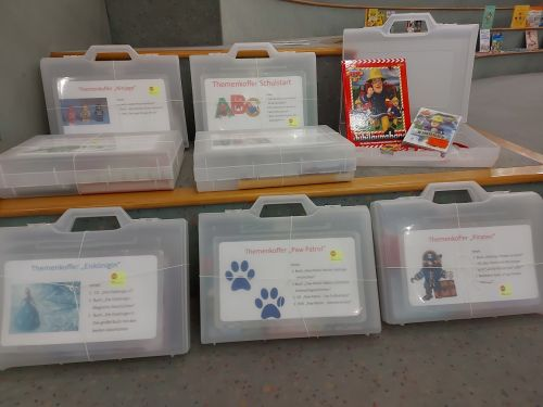 Themenkoffer in der Kinder- und Jugendbibliothek
