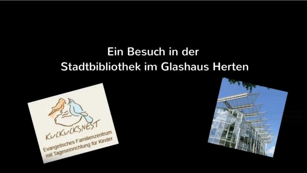 Ein Besuch in der Stadtbibliothek im Glashaus Herten