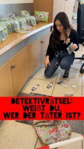 Detektivrätsel: Weißt Du, wer der Täter ist?